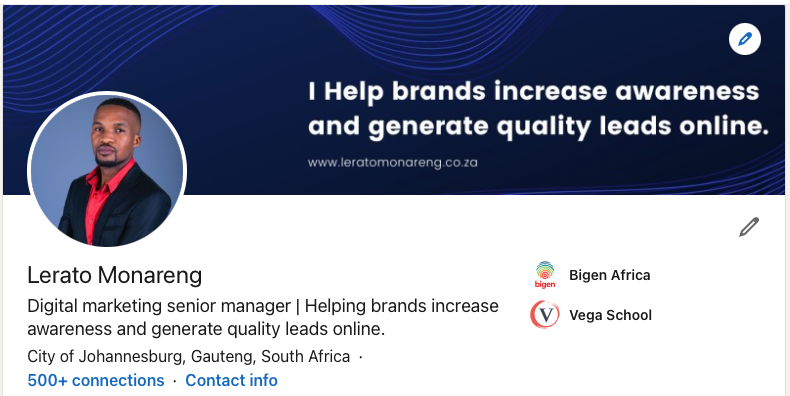 Lerato Monareng - Digital marketing senior manager - Helping brands increase awareness and generate quality leads online